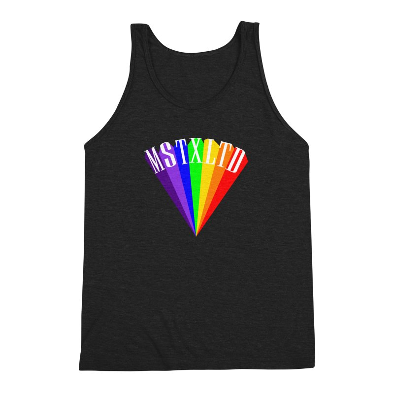 The Lightbringer Men's Triblend Tank by Thee Most Exalted T-shirt page.