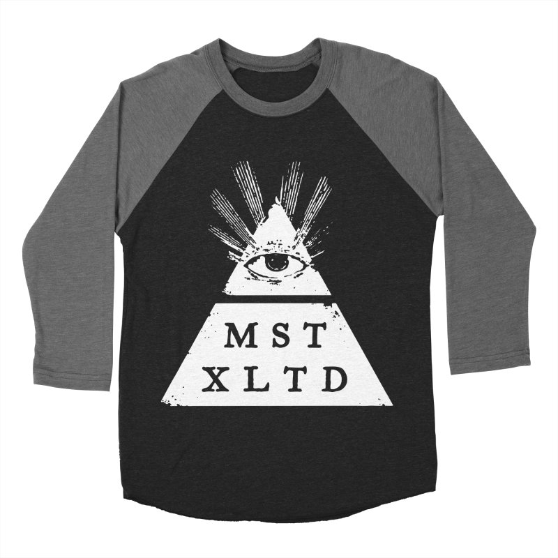 Most Exalted Logo Men's Baseball Triblend Longsleeve T-Shirt by Thee Most Exalted T-shirt page.