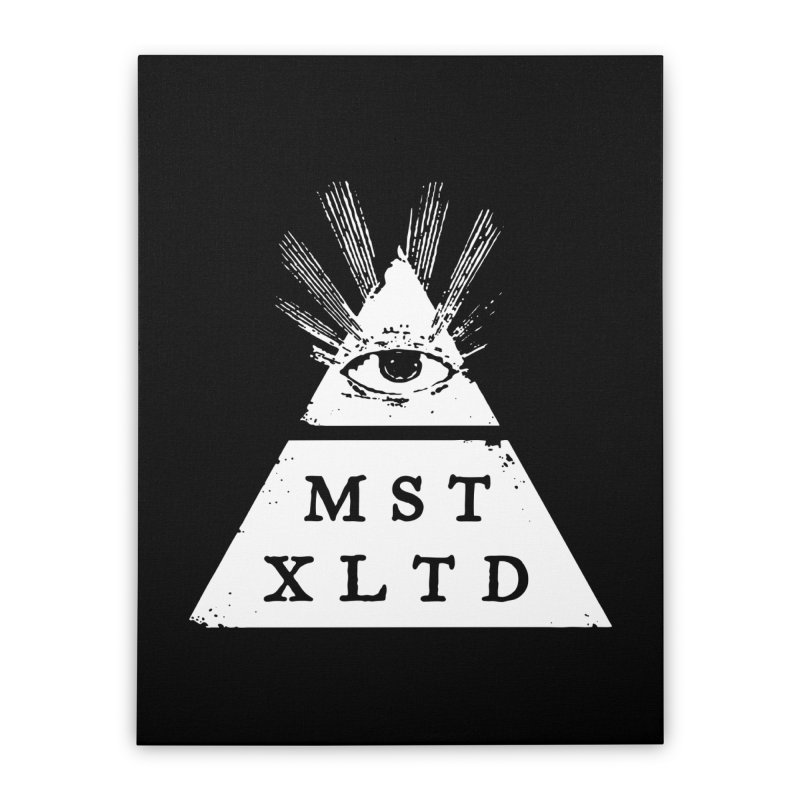 Most Exalted Logo Home Stretched Canvas by Thee Most Exalted T-shirt page.