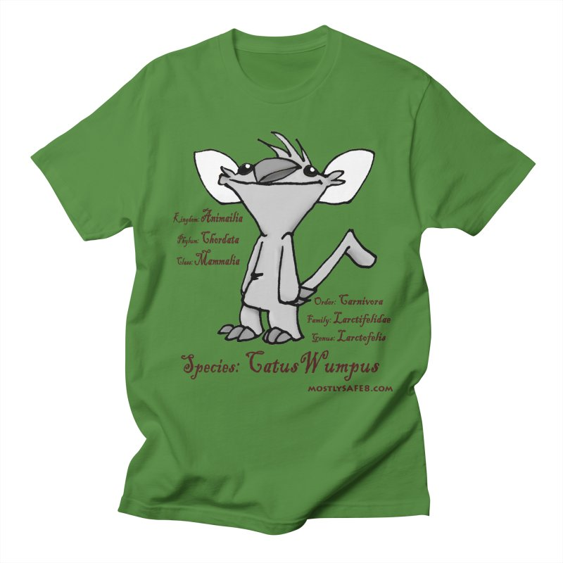 K.T. Wumpus Men's T-Shirt by MostlySAFE Webcomic Shwag