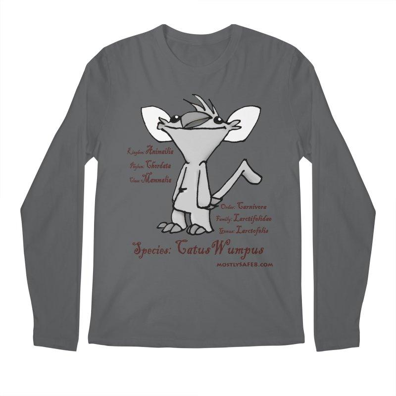 K.T. Wumpus Men's Longsleeve T-Shirt by MostlySAFE Webcomic Shwag