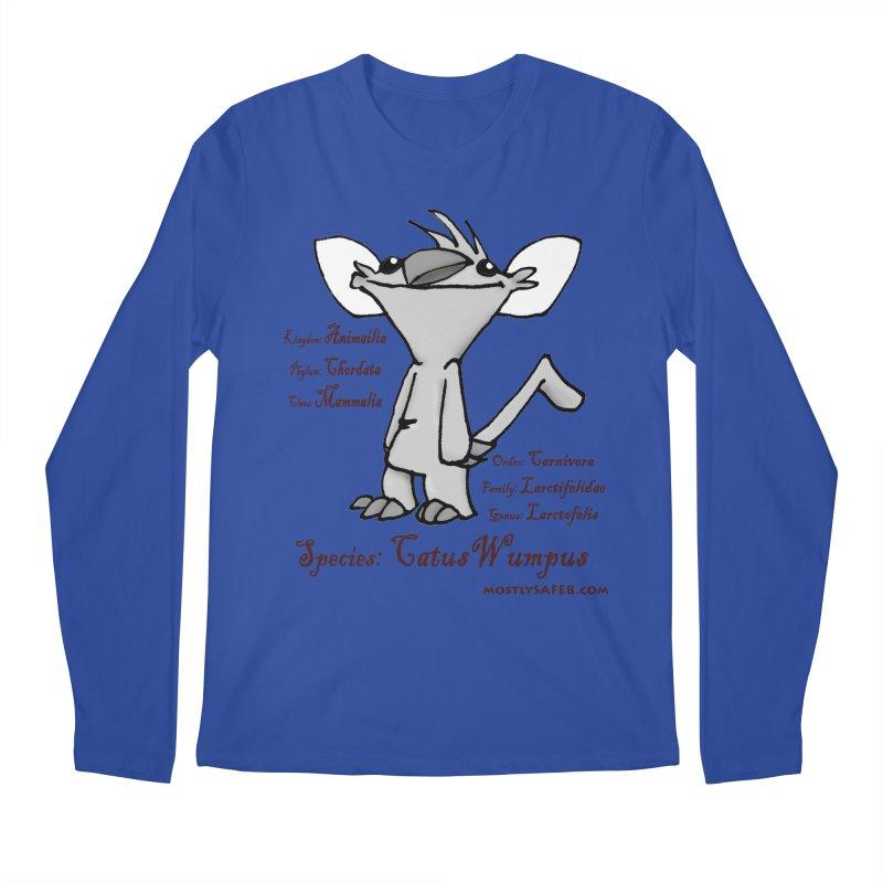 K.T. Wumpus Men's Regular Longsleeve T-Shirt by MostlySAFE Webcomic Shwag