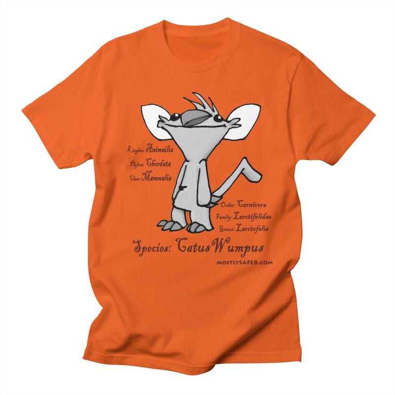 K.T. Wumpus Men's Regular T-Shirt by MostlySAFE Webcomic Shwag