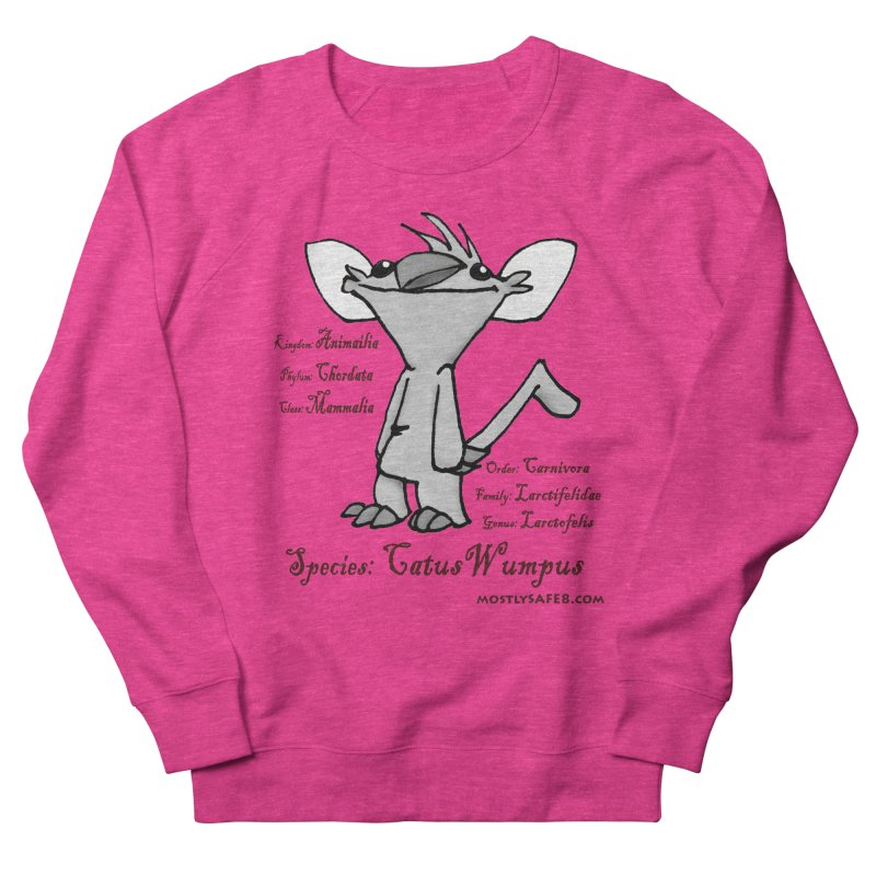 K.T. Wumpus Men's French Terry Sweatshirt by MostlySAFE Webcomic Shwag