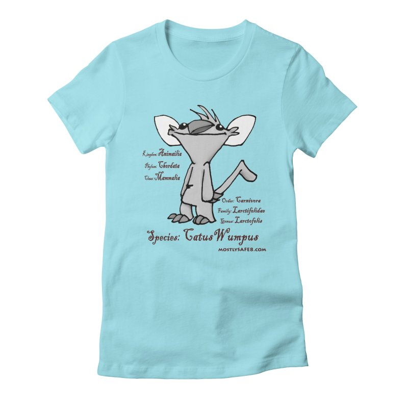 K.T. Wumpus Women's T-Shirt by MostlySAFE Webcomic Shwag