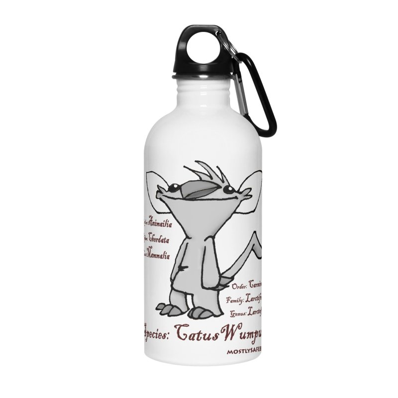 K.T. Wumpus Accessories Water Bottle by MostlySAFE Webcomic Shwag