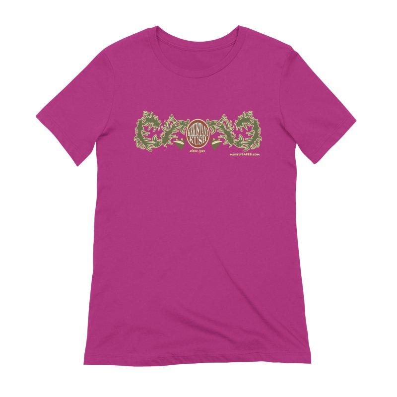 Kekistani Kush Women's Extra Soft T-Shirt by MostlySAFE Webcomic Shwag