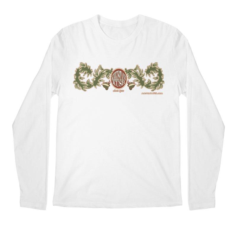 Kekistani Kush Men's Regular Longsleeve T-Shirt by MostlySAFE Webcomic Shwag
