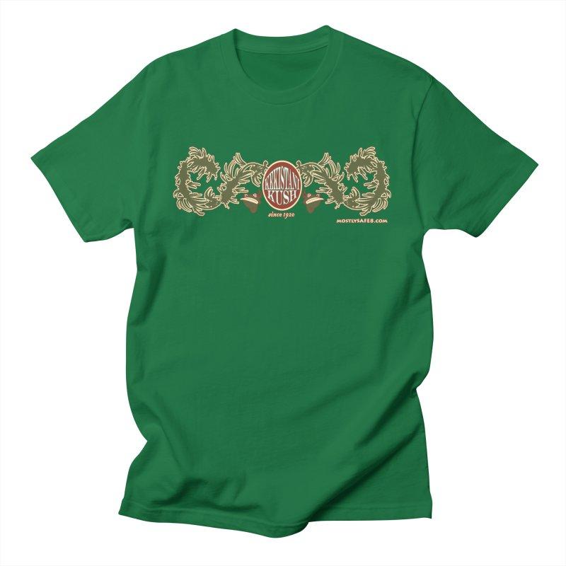 Kekistani Kush Men's T-Shirt by MostlySAFE Webcomic Shwag