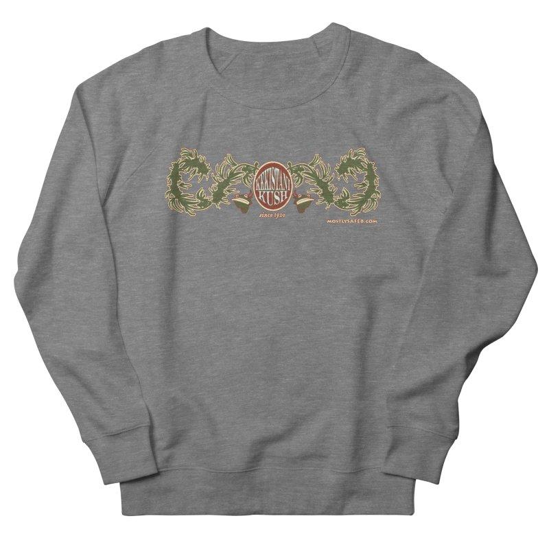 Kekistani Kush Women's French Terry Sweatshirt by MostlySAFE Webcomic Shwag