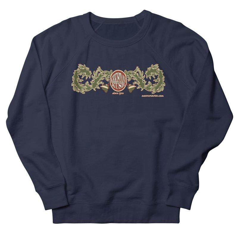 Kekistani Kush Men's French Terry Sweatshirt by MostlySAFE Webcomic Shwag