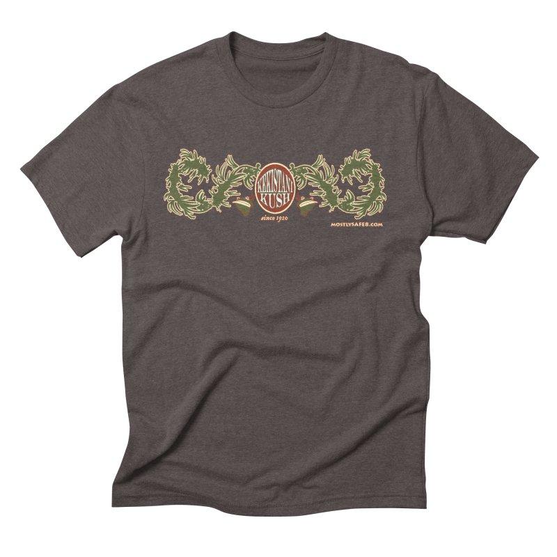 Kekistani Kush Men's Triblend T-Shirt by MostlySAFE Webcomic Shwag