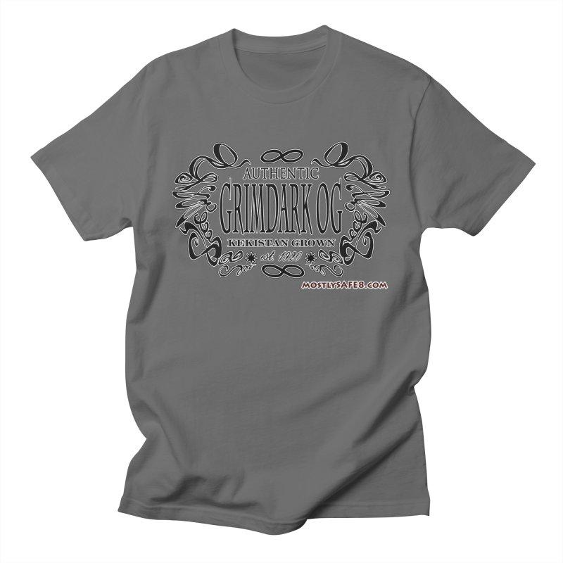 GRIMDARK OG Men's T-Shirt by MostlySAFE Webcomic Shwag