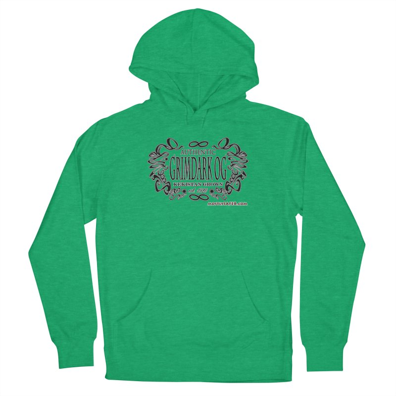 GRIMDARK OG Women's French Terry Pullover Hoody by MostlySAFE Webcomic Shwag