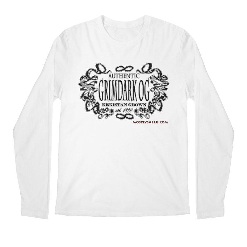 GRIMDARK OG Men's Regular Longsleeve T-Shirt by MostlySAFE Webcomic Shwag