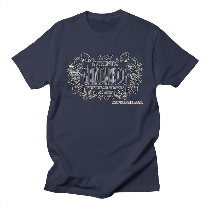 GRIMDARK OG Women's Regular Unisex T-Shirt by MostlySAFE Webcomic Shwag