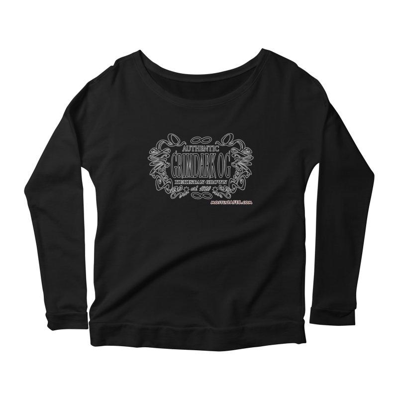 GRIMDARK OG Women's Scoop Neck Longsleeve T-Shirt by MostlySAFE Webcomic Shwag