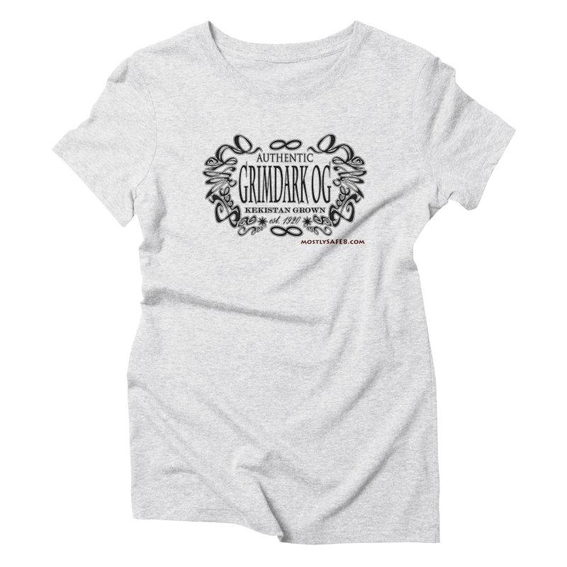 GRIMDARK OG Women's T-Shirt by MostlySAFE Webcomic Shwag