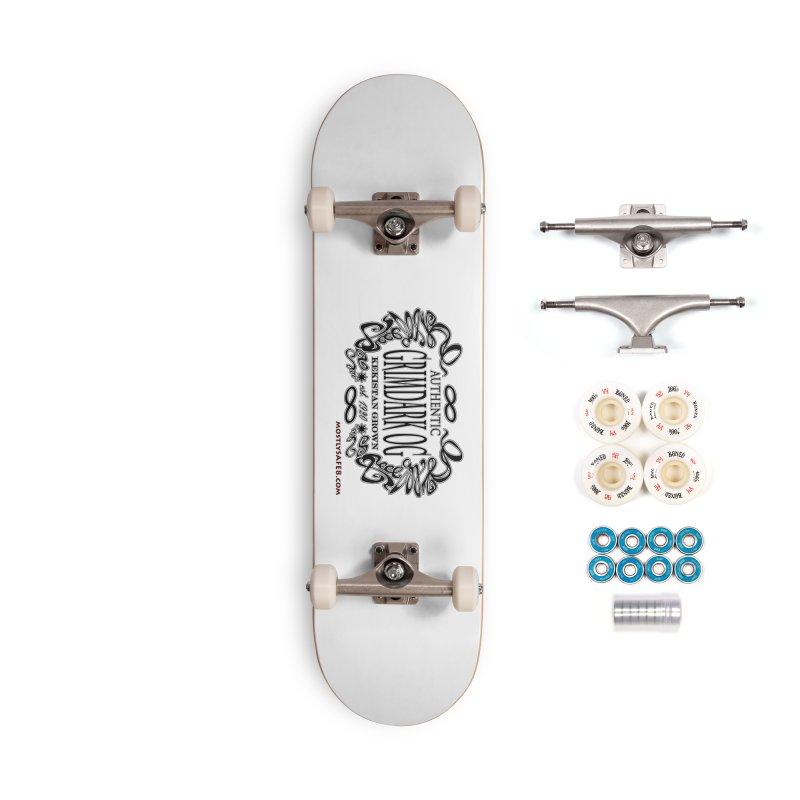 GRIMDARK OG Accessories Complete - Premium Skateboard by MostlySAFE Webcomic Shwag