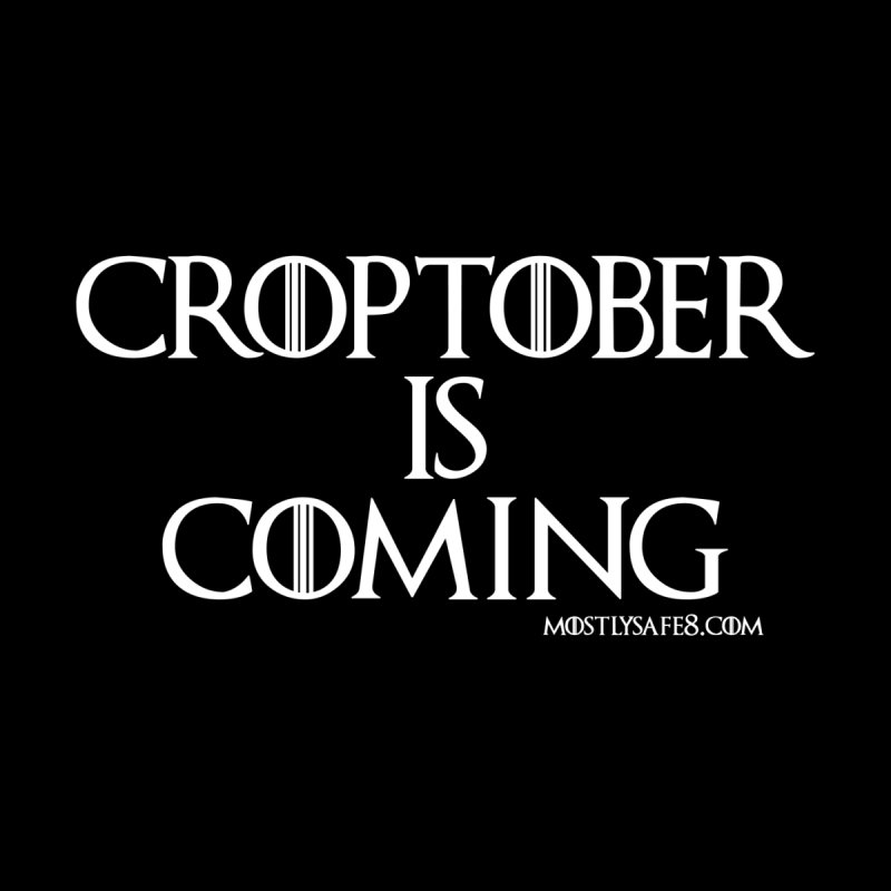 CROPTOBER IS COMING Men's Sweatshirt by MostlySAFE Webcomic Shwag
