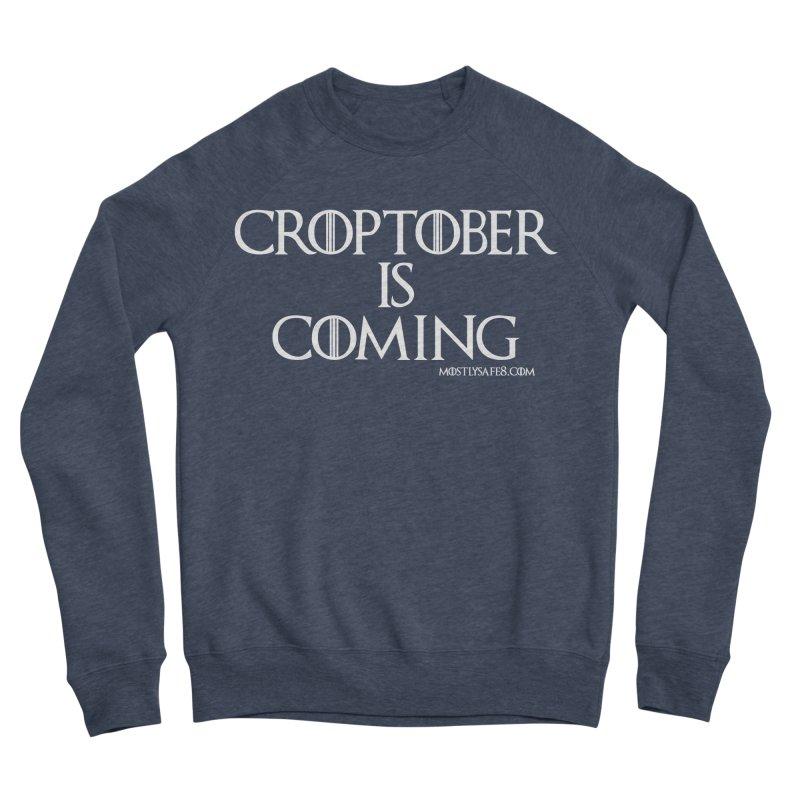 CROPTOBER IS COMING Men's Sweatshirt by MostlySAFE Webcomic Shwag