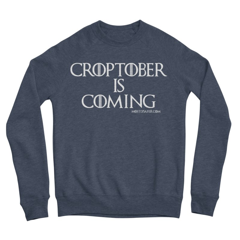 CROPTOBER IS COMING Women's Sponge Fleece Sweatshirt by MostlySAFE Webcomic Shwag