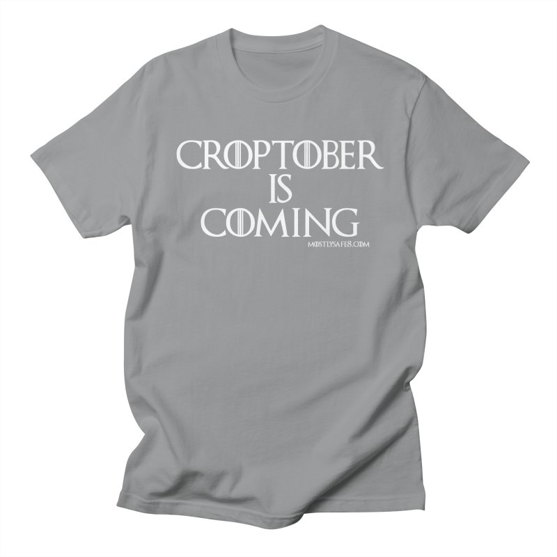CROPTOBER IS COMING Men's T-Shirt by MostlySAFE Webcomic Shwag