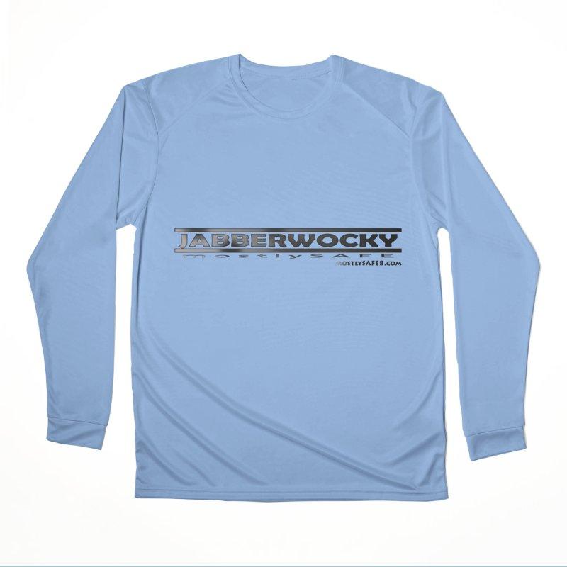 JABBERWOCKY - Black Space Bucket Logo Men's Longsleeve T-Shirt by MostlySAFE Webcomic Shwag