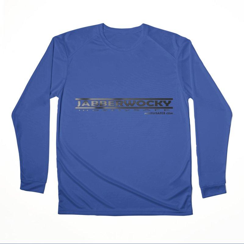 JABBERWOCKY - Black Space Bucket Logo Women's Performance Unisex Longsleeve T-Shirt by MostlySAFE Webcomic Shwag