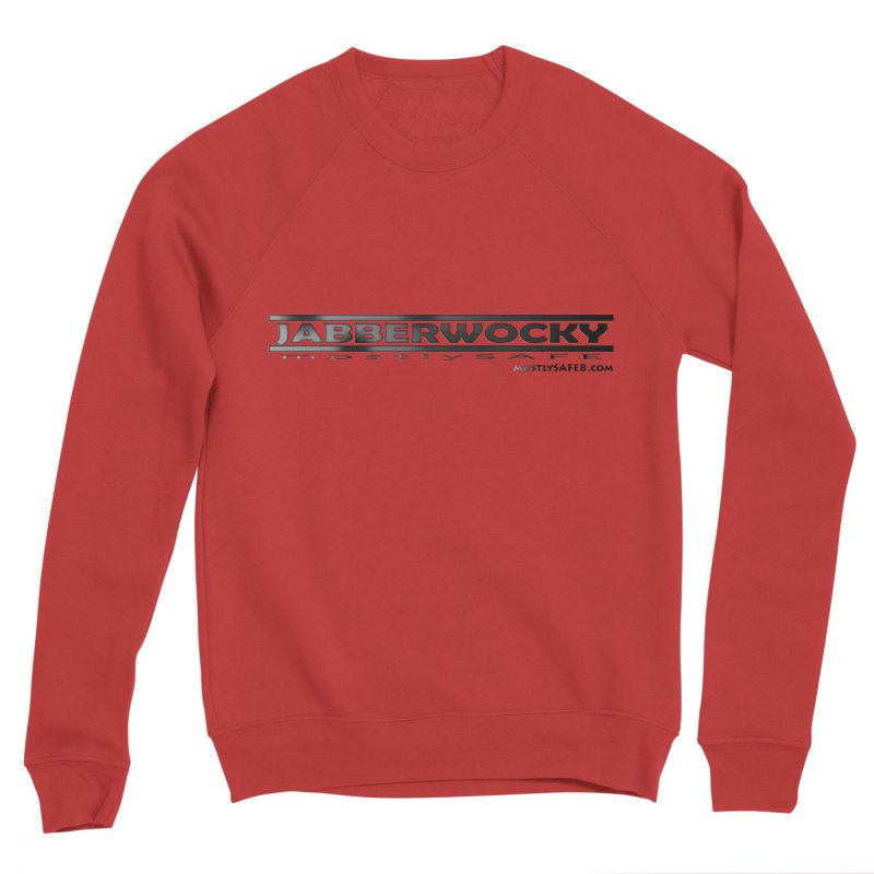 JABBERWOCKY - Black Space Bucket Logo Men's Sweatshirt by MostlySAFE Webcomic Shwag