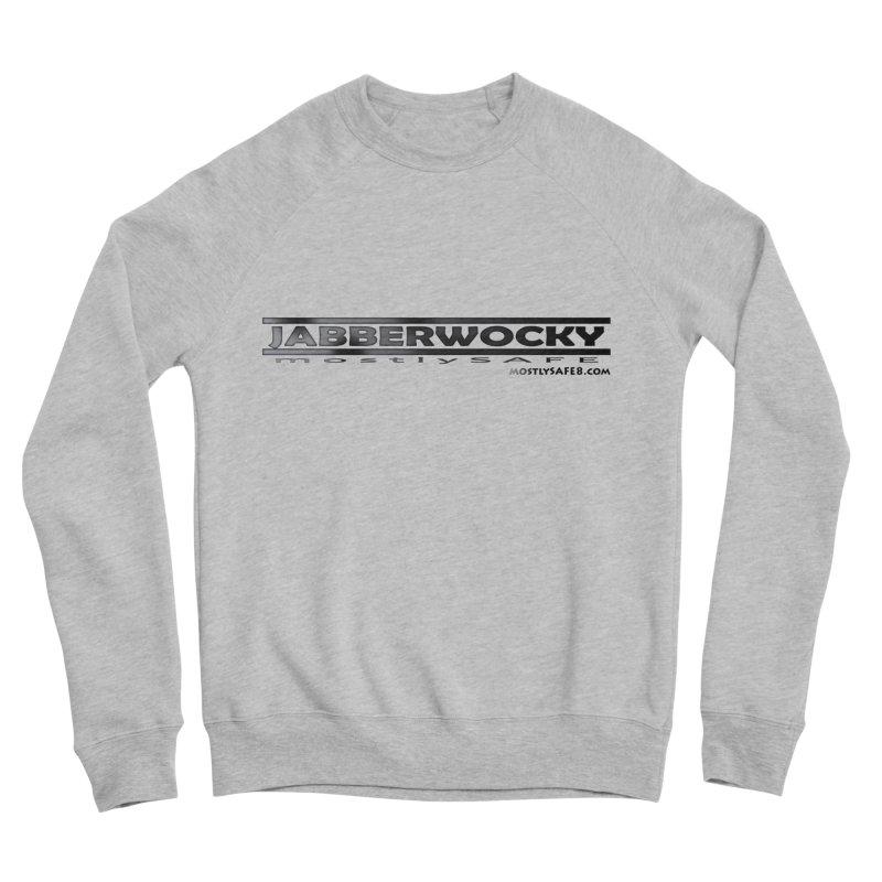 JABBERWOCKY - Black Space Bucket Logo Men's Sponge Fleece Sweatshirt by MostlySAFE Webcomic Shwag
