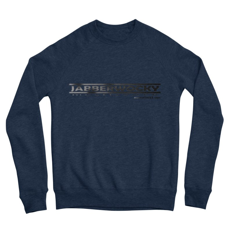 JABBERWOCKY - Black Space Bucket Logo Men's Sweatshirt by MostlySAFE Webcomic Shwag