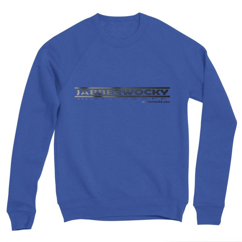 JABBERWOCKY - Black Space Bucket Logo Women's Sweatshirt by MostlySAFE Webcomic Shwag