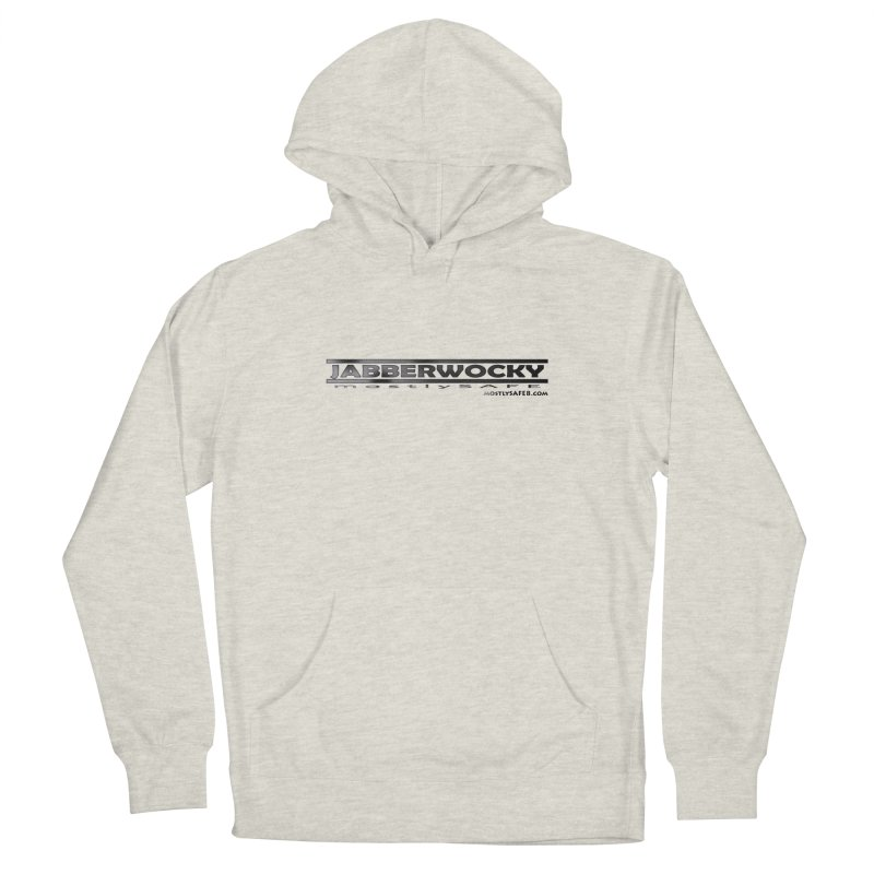 JABBERWOCKY - Black Space Bucket Logo Women's French Terry Pullover Hoody by MostlySAFE Webcomic Shwag