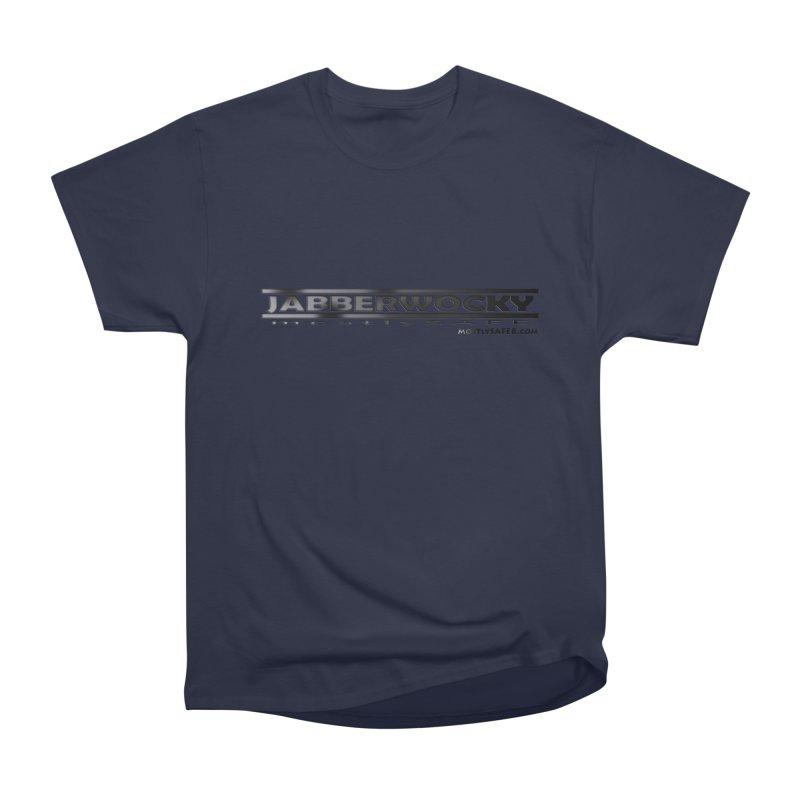 JABBERWOCKY - Black Space Bucket Logo Women's Heavyweight Unisex T-Shirt by MostlySAFE Webcomic Shwag