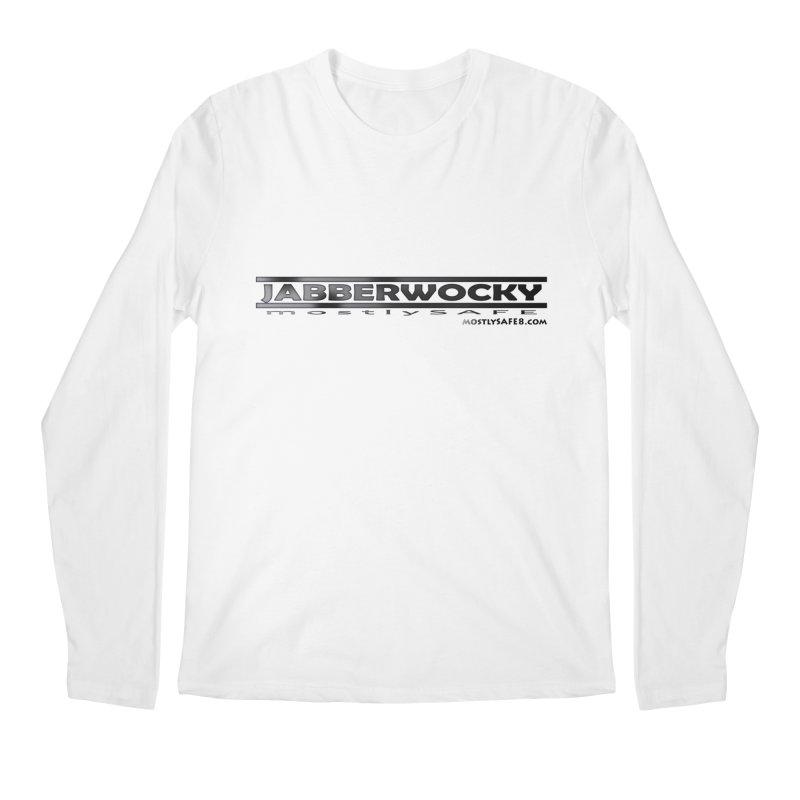 JABBERWOCKY - Black Space Bucket Logo Men's Regular Longsleeve T-Shirt by MostlySAFE Webcomic Shwag