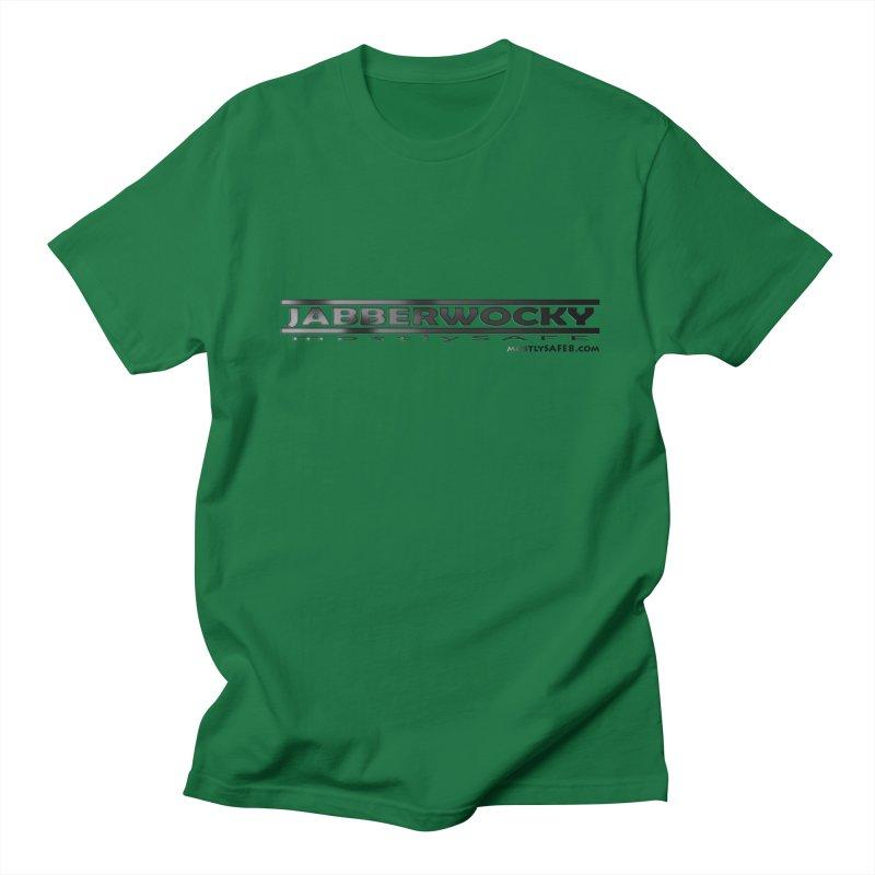 JABBERWOCKY - Black Space Bucket Logo Women's Regular Unisex T-Shirt by MostlySAFE Webcomic Shwag