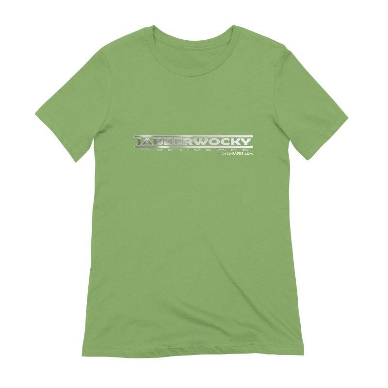 JABBERWOCKY - White Space Bucket Logo Women's Extra Soft T-Shirt by MostlySAFE Webcomic Shwag