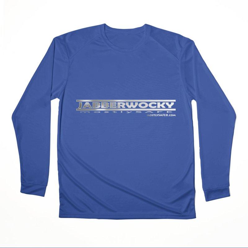 JABBERWOCKY - White Space Bucket Logo Women's Performance Unisex Longsleeve T-Shirt by MostlySAFE Webcomic Shwag