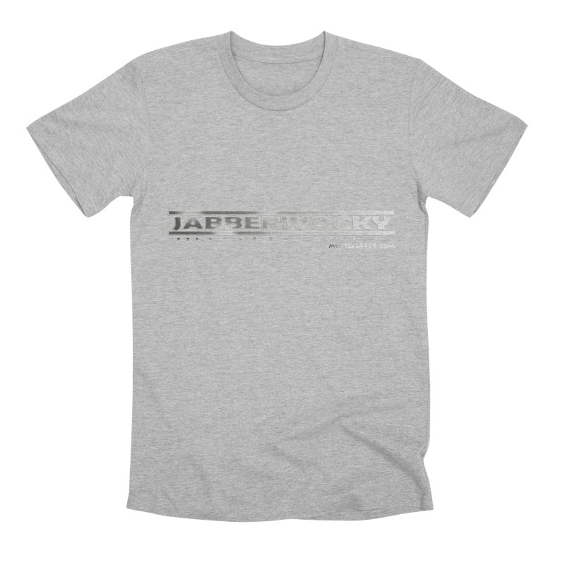 JABBERWOCKY - White Space Bucket Logo Men's T-Shirt by MostlySAFE Webcomic Shwag