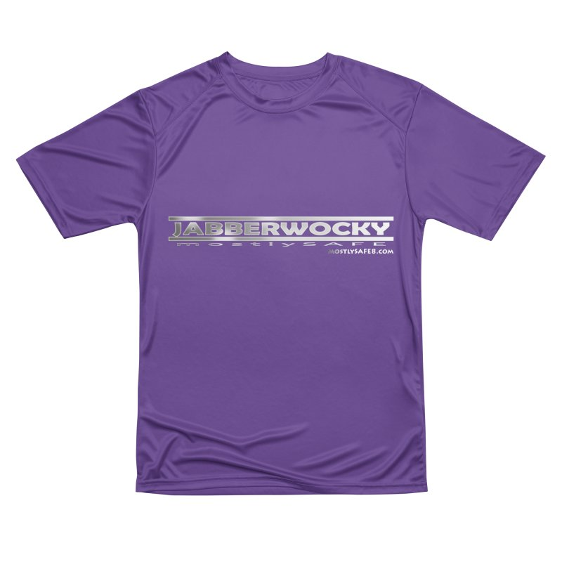 JABBERWOCKY - White Space Bucket Logo Men's Performance T-Shirt by MostlySAFE Webcomic Shwag