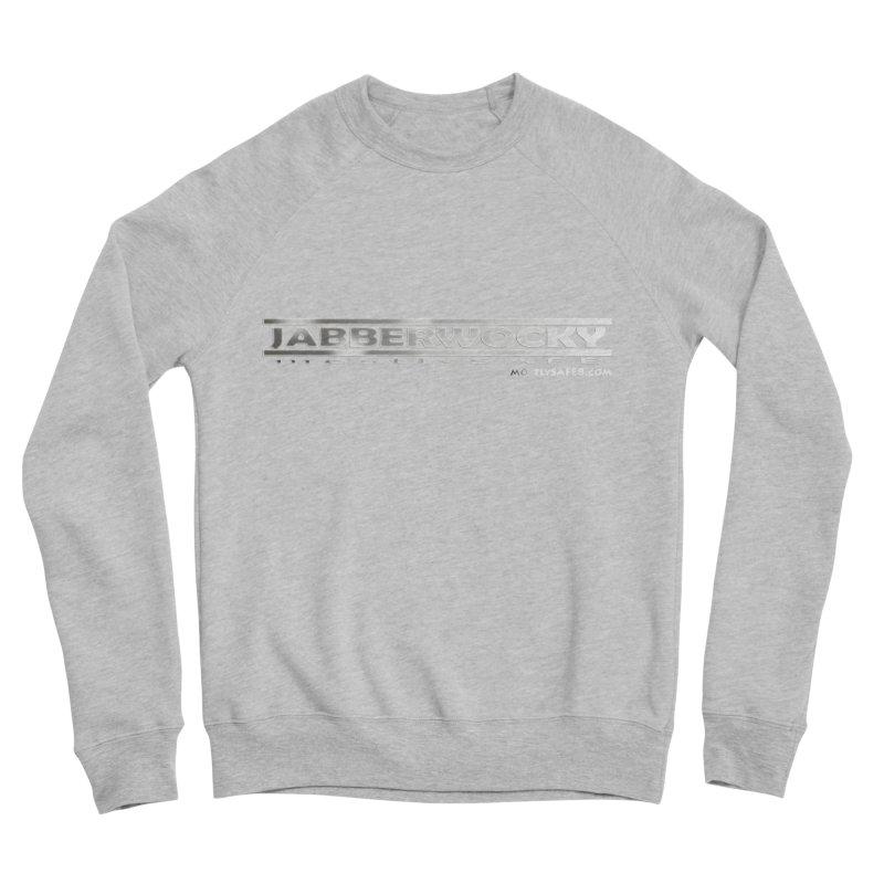 JABBERWOCKY - White Space Bucket Logo Men's Sponge Fleece Sweatshirt by MostlySAFE Webcomic Shwag