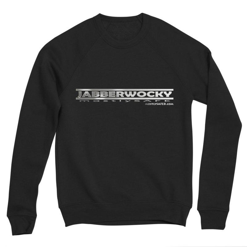 JABBERWOCKY - White Space Bucket Logo Men's Sweatshirt by MostlySAFE Webcomic Shwag