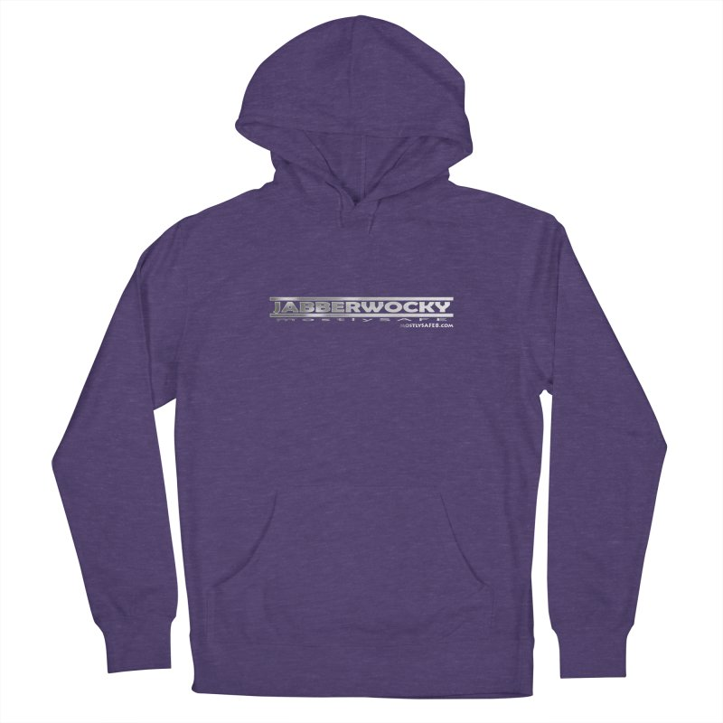 JABBERWOCKY - White Space Bucket Logo Women's French Terry Pullover Hoody by MostlySAFE Webcomic Shwag