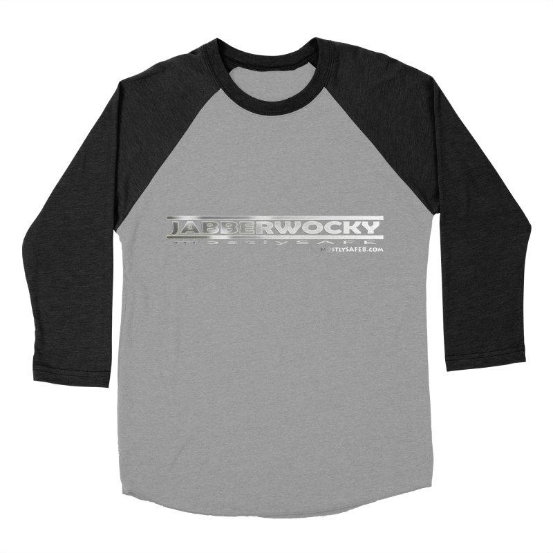 JABBERWOCKY - White Space Bucket Logo Women's Baseball Triblend Longsleeve T-Shirt by MostlySAFE Webcomic Shwag