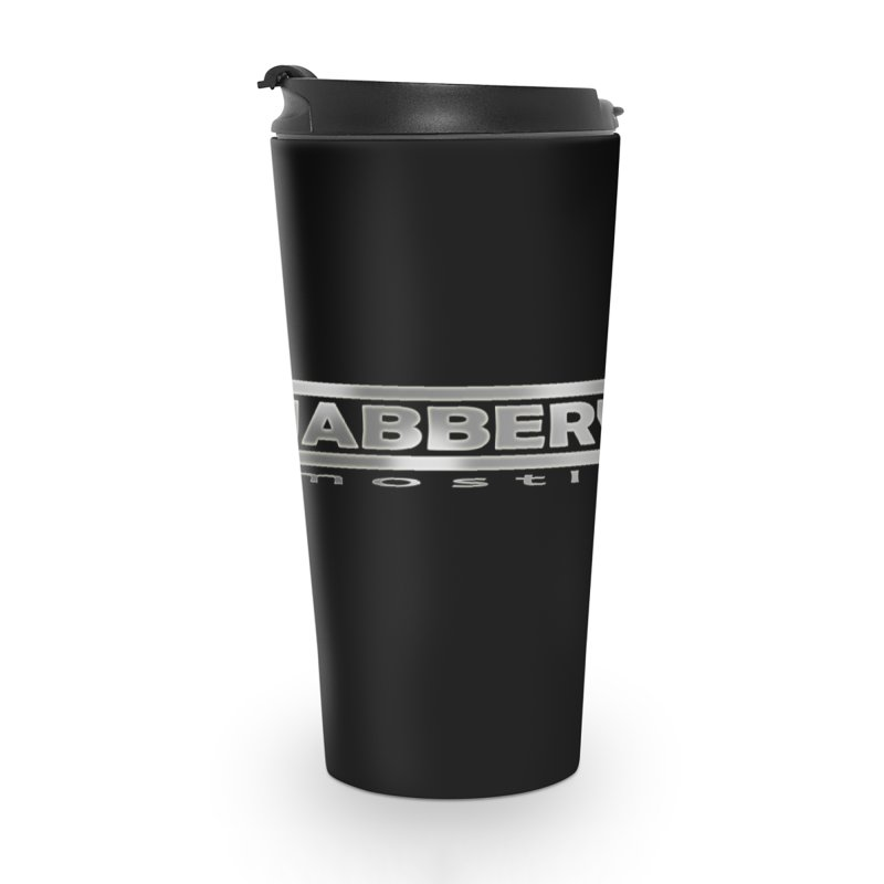 JABBERWOCKY - White Space Bucket Logo Accessories Mug by MostlySAFE Webcomic Shwag