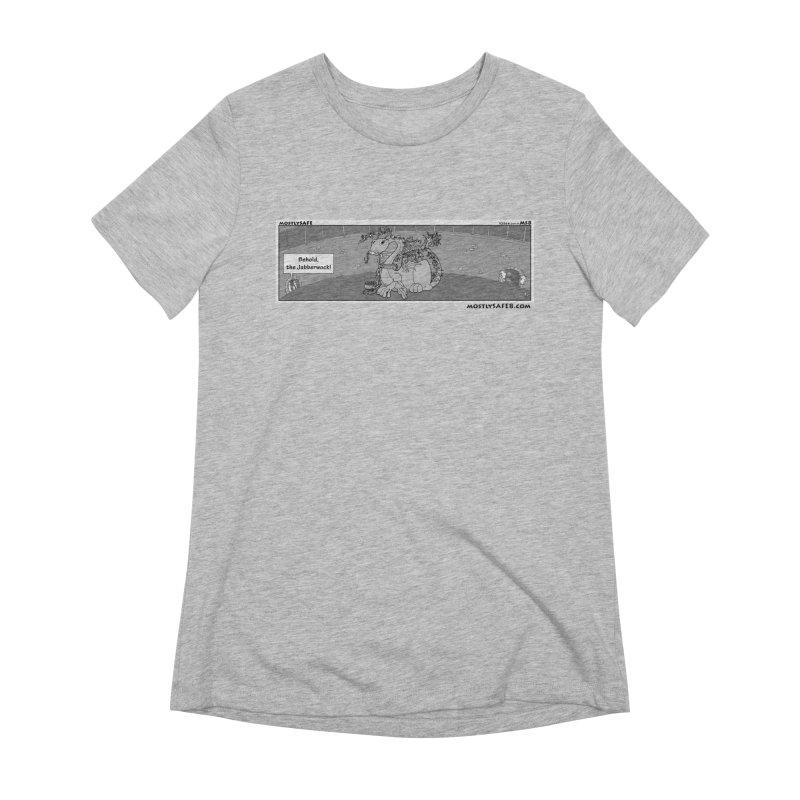 Behold the Jabberwock! - Webcomic Strip Women's Extra Soft T-Shirt by MostlySAFE Webcomic Shwag