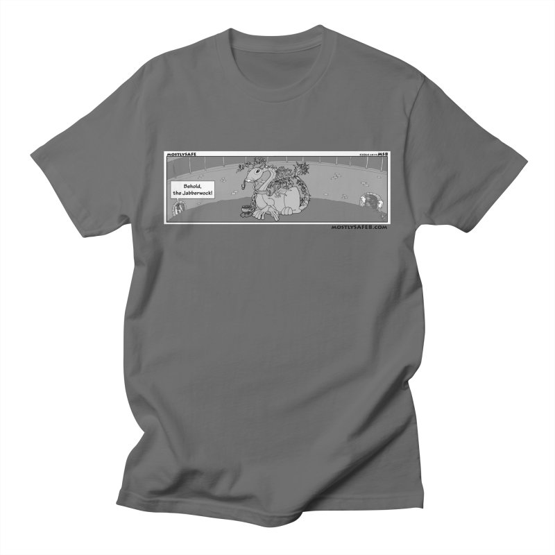 Behold the Jabberwock! - Webcomic Strip Men's T-Shirt by MostlySAFE Webcomic Shwag