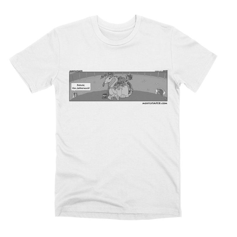 Behold the Jabberwock! - Webcomic Strip Men's Premium T-Shirt by MostlySAFE Webcomic Shwag