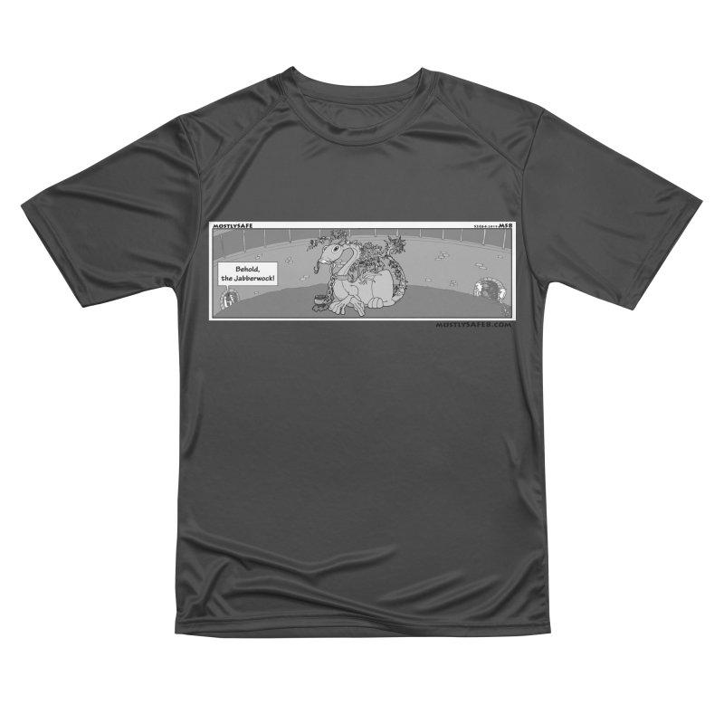 Behold the Jabberwock! - Webcomic Strip Men's Performance T-Shirt by MostlySAFE Webcomic Shwag
